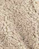 Half-Zip Sherpa Pullover, , hi-res