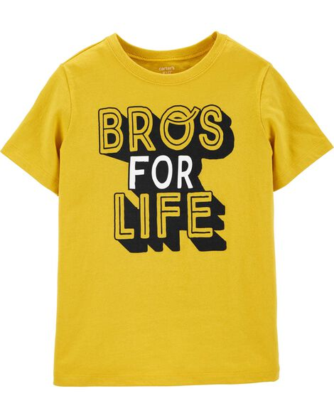 Bros For Life Jersey Tee
