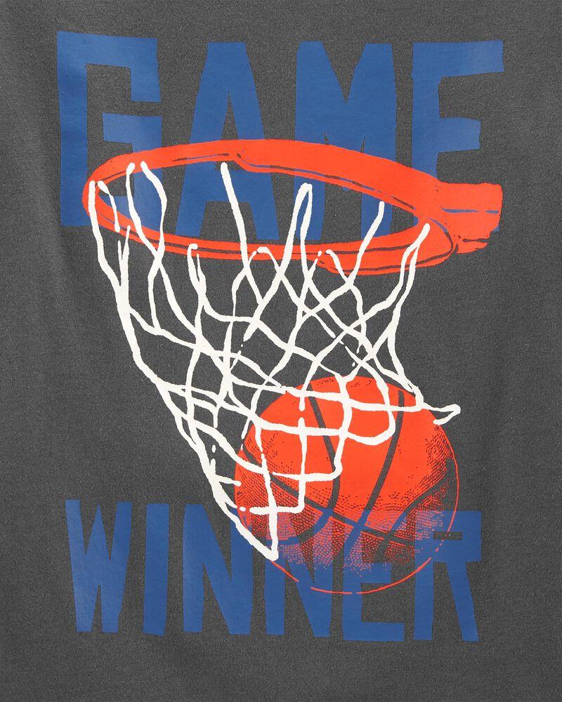 T-shirt en jersey basketball, , hi-res