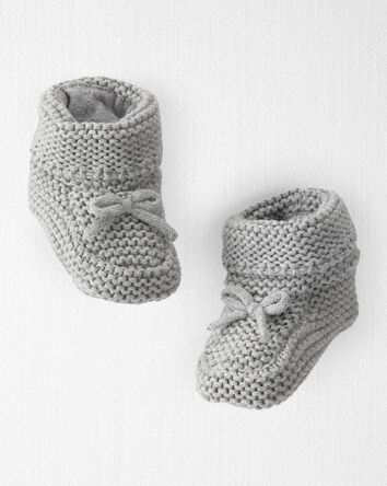 Chunky Knit Booties