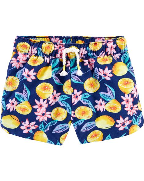 Lemon Sun Shorts