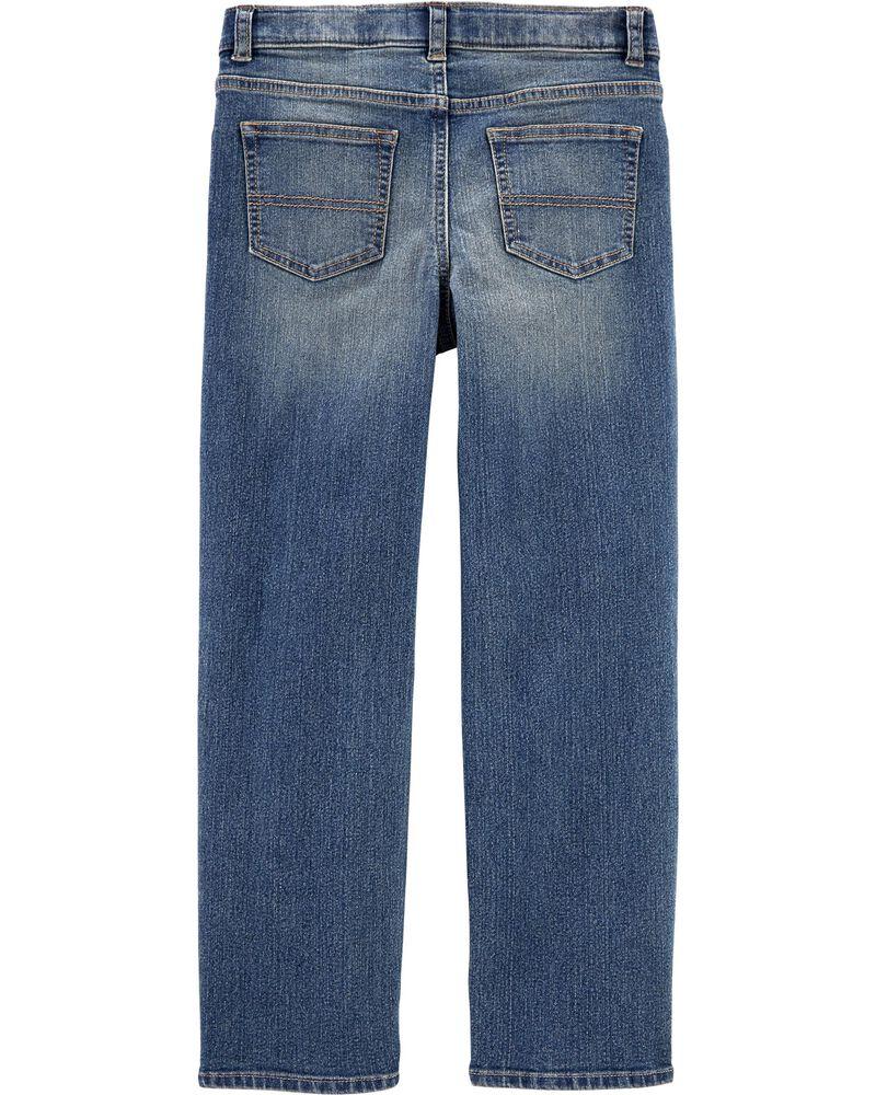 Regular Fit Classic Jeans - Tumble Medium Faded Wash, , hi-res