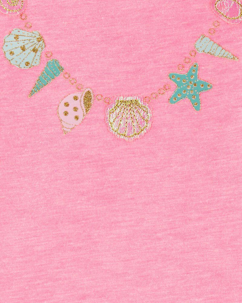 Seashell Necklace Bodysuit, , hi-res
