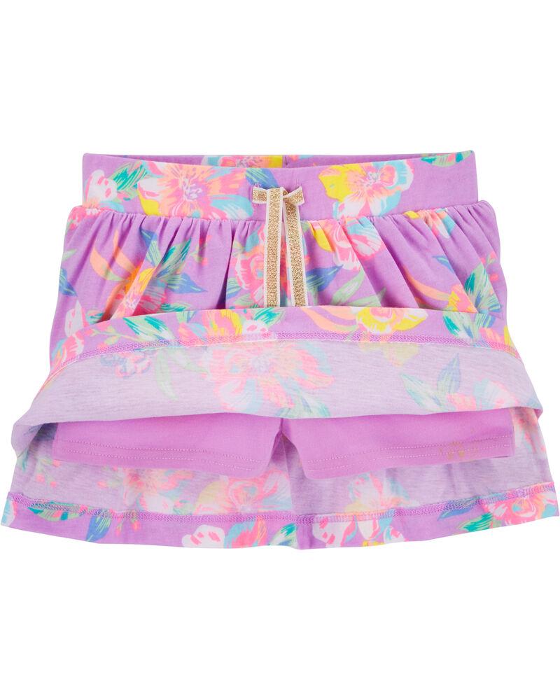 Floral Scooter Skirt, , hi-res
