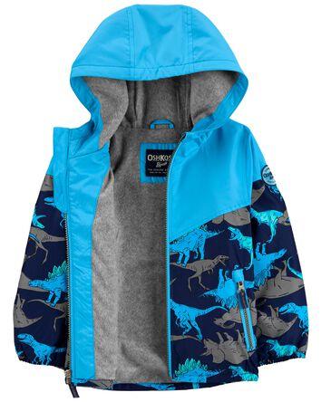 Colourblock Shark Fleece-Lined Midw...
