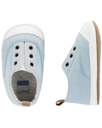 Chambray Sneaker Baby Shoes