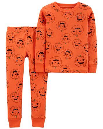 2-Piece Halloween 100% Snug Fit Cot...