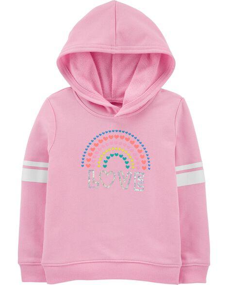 Rainbow Love Hoodie