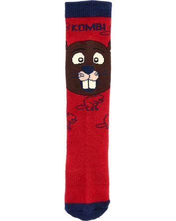 Kombi Justin The Beaver Socks