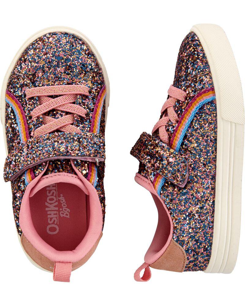 Rainbow Glitter Sneakers, , hi-res