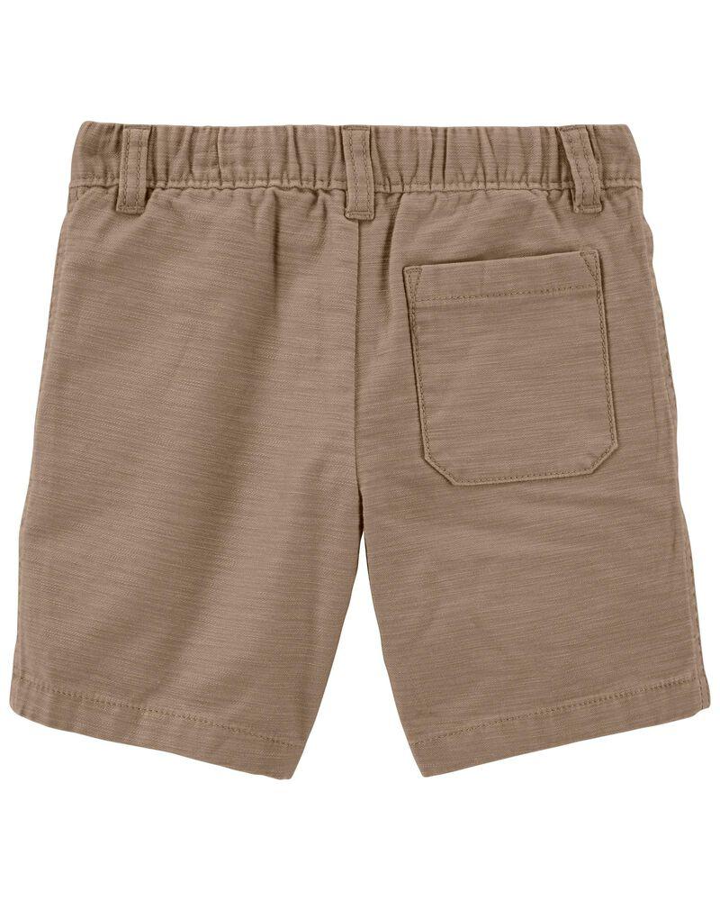 Pull-On Khaki Shorts, , hi-res