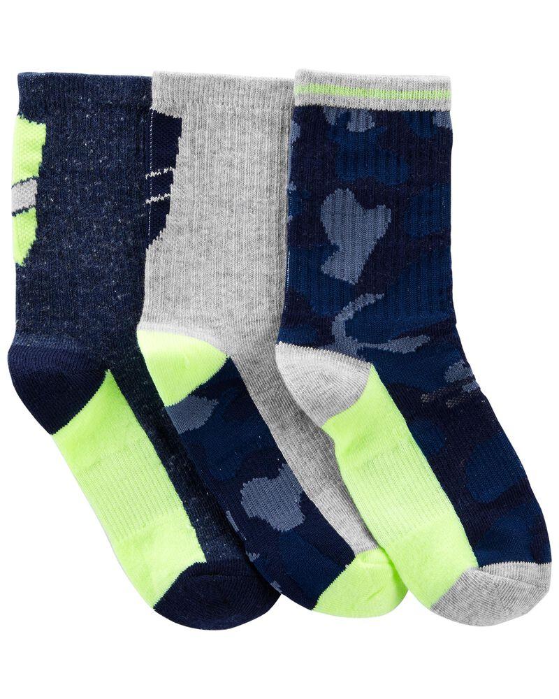 3-Pack Athletic Socks, , hi-res