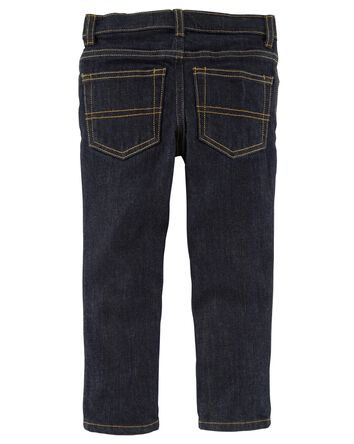 Jeans fuseau - délavage véritable