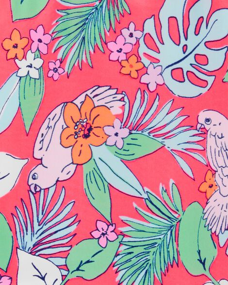 OshKosh Floral One Piece Swimsuit