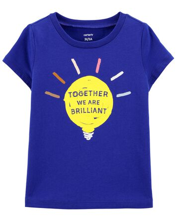 Brilliant Lightbulb Jersey Tee