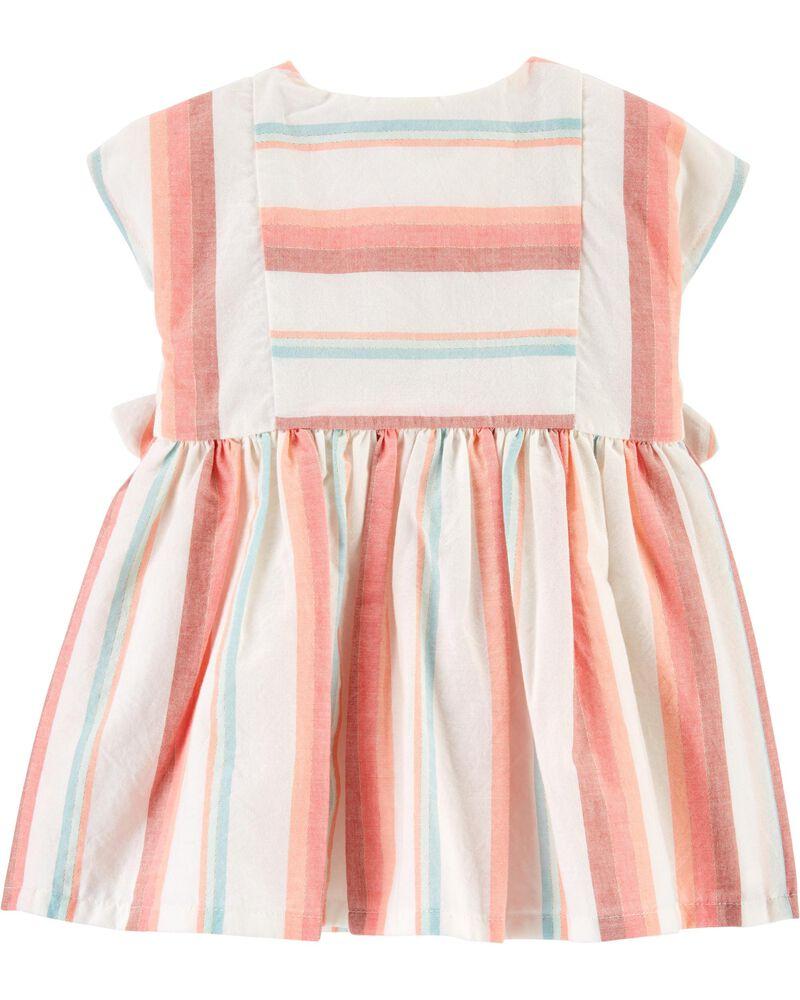 Striped Dress, , hi-res