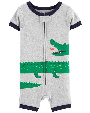 1-Piece Alligator 100% Snug Fit Cot...