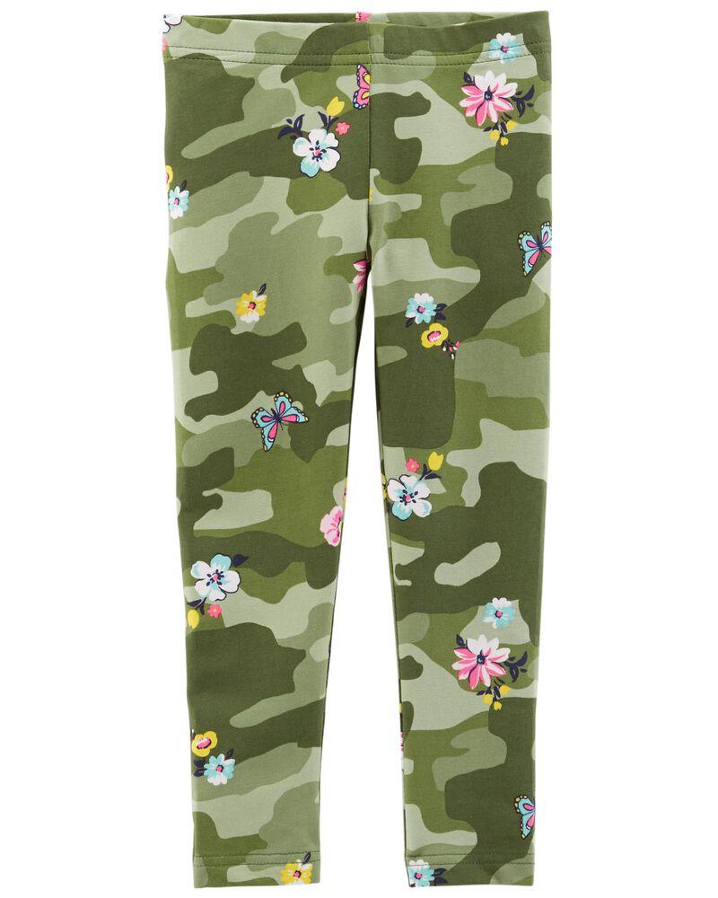 Floral Camo Leggings, , hi-res