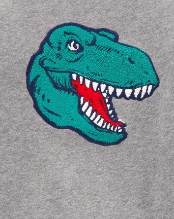 Dinosaur Fleece Pullover