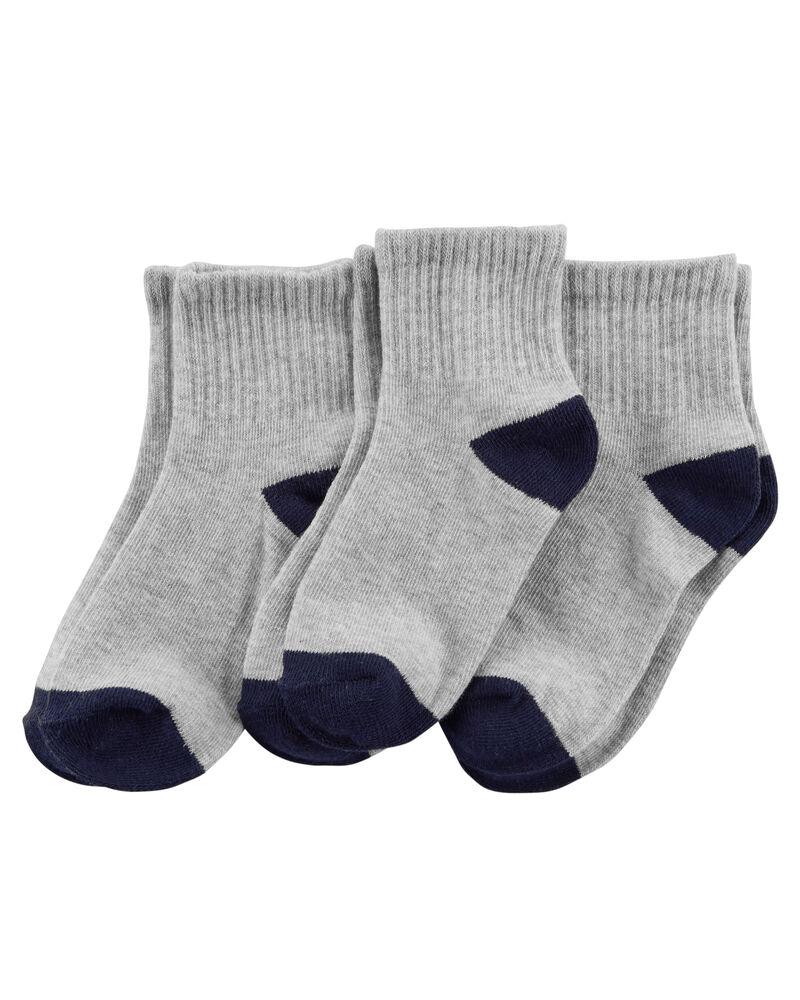 3-Pack Crew Socks, , hi-res