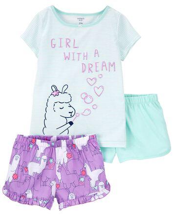 Pyjama 1 pièce de coupe ample lama