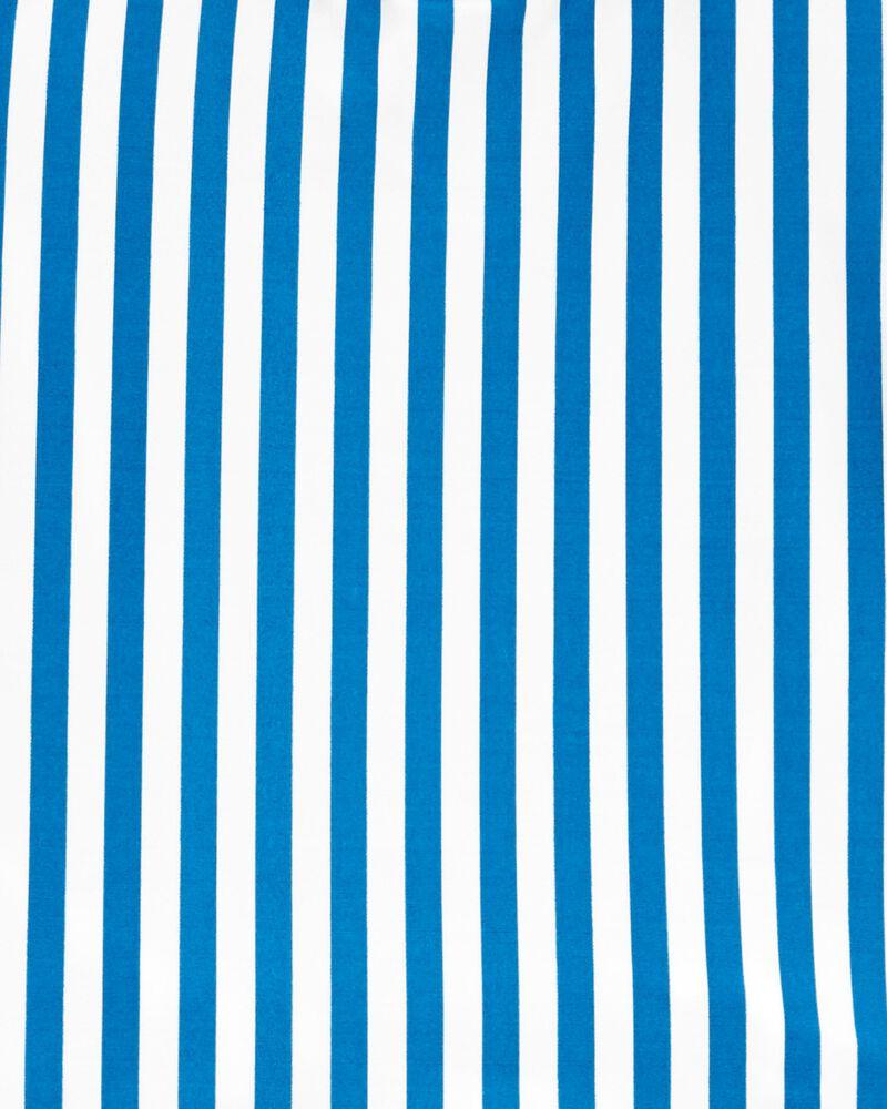 Striped Ruffle Tankini, , hi-res