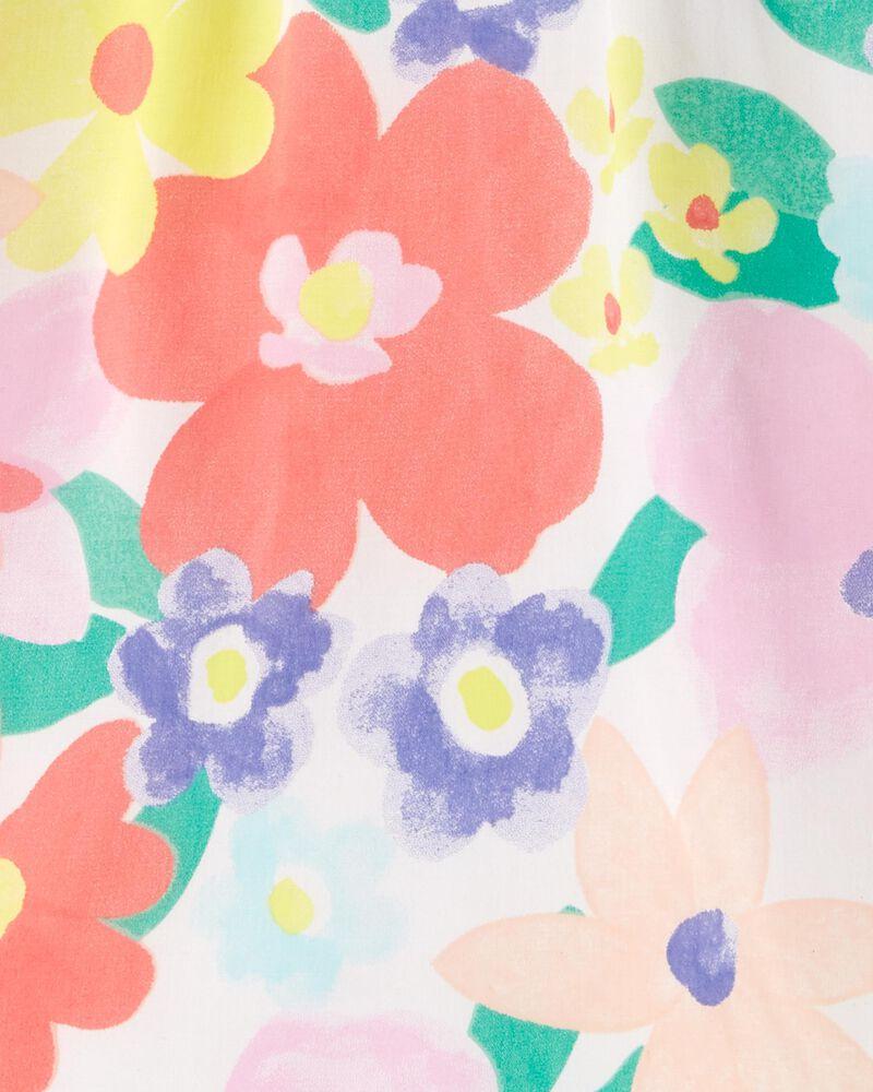 Floral Poplin Top, , hi-res