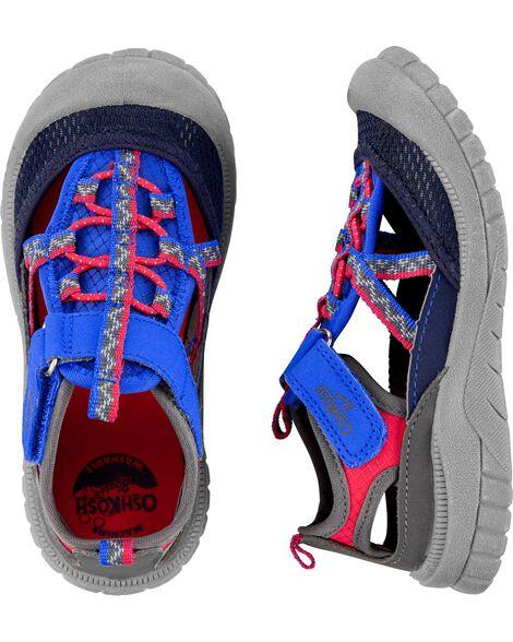 Sandales à bout muflé Oshkosh grises