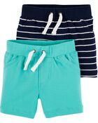 2-Pack Pull-On Shorts, , hi-res