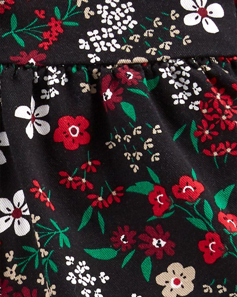 Ensemble 2 pièces chemise boutonnée fleurie et pantalon, , hi-res