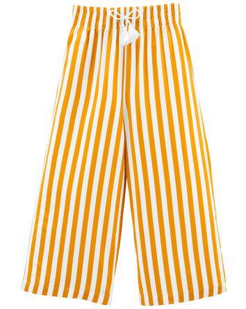 Tween Striped Wide-Leg Pants