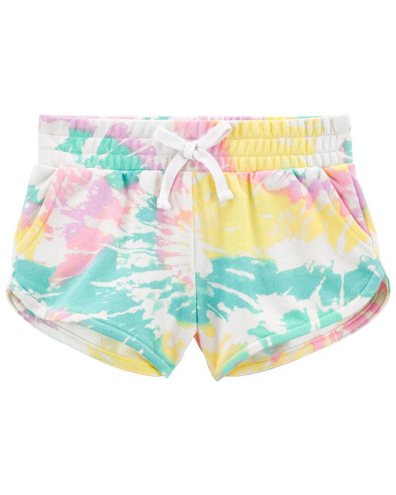 Tween Tie-Dye Shorts, , hi-res