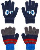 2 paires de gants Grands yeux à paume agrippante Kombi, , hi-res