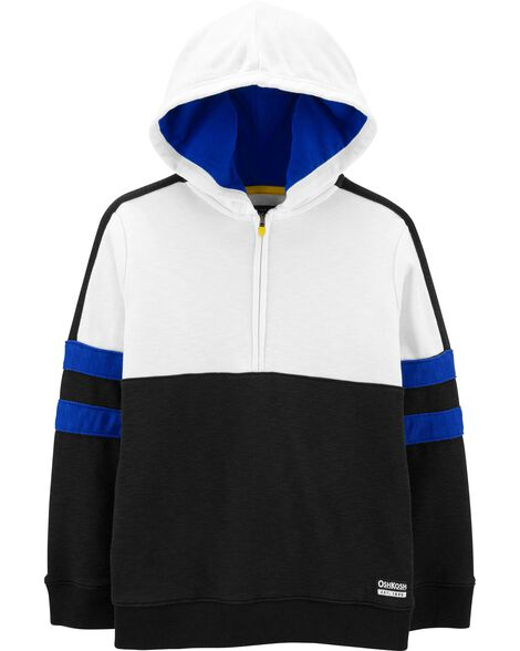 Colorblock French Terry Hoodie