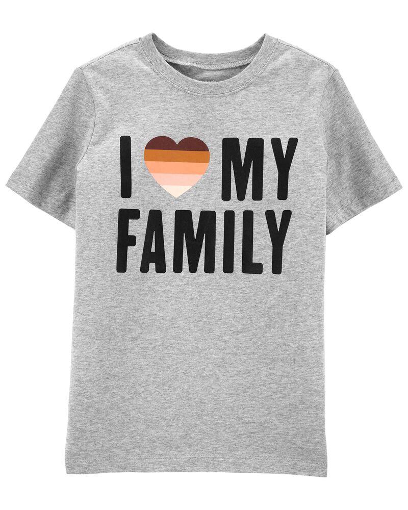T-shirt I Love My Family , , hi-res
