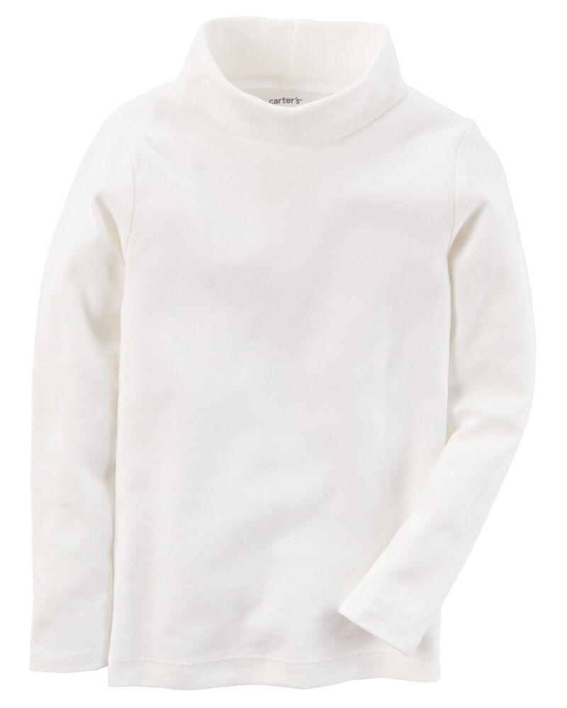 Cotton Turtleneck, , hi-res
