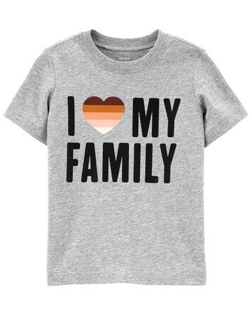 T-shirt I Love My Family