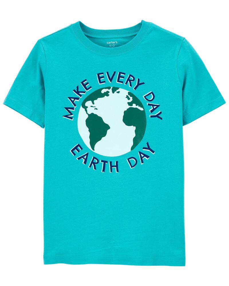 T-shirt en jersey Jour de la Terre, , hi-res