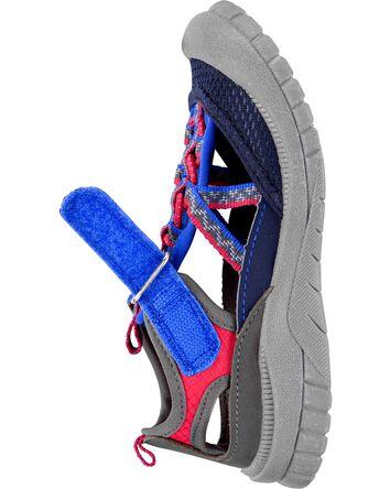 Sandales à bout muflé Oshkosh grise...