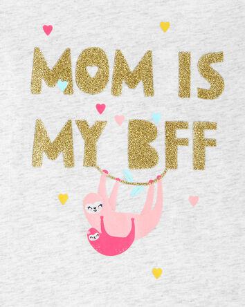 T-shirt en jersey maman paresseux s...