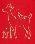 T-shirt en jersey à renne, , hi-res