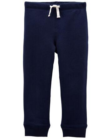 Pantalon à enfiler en jersey boucle...