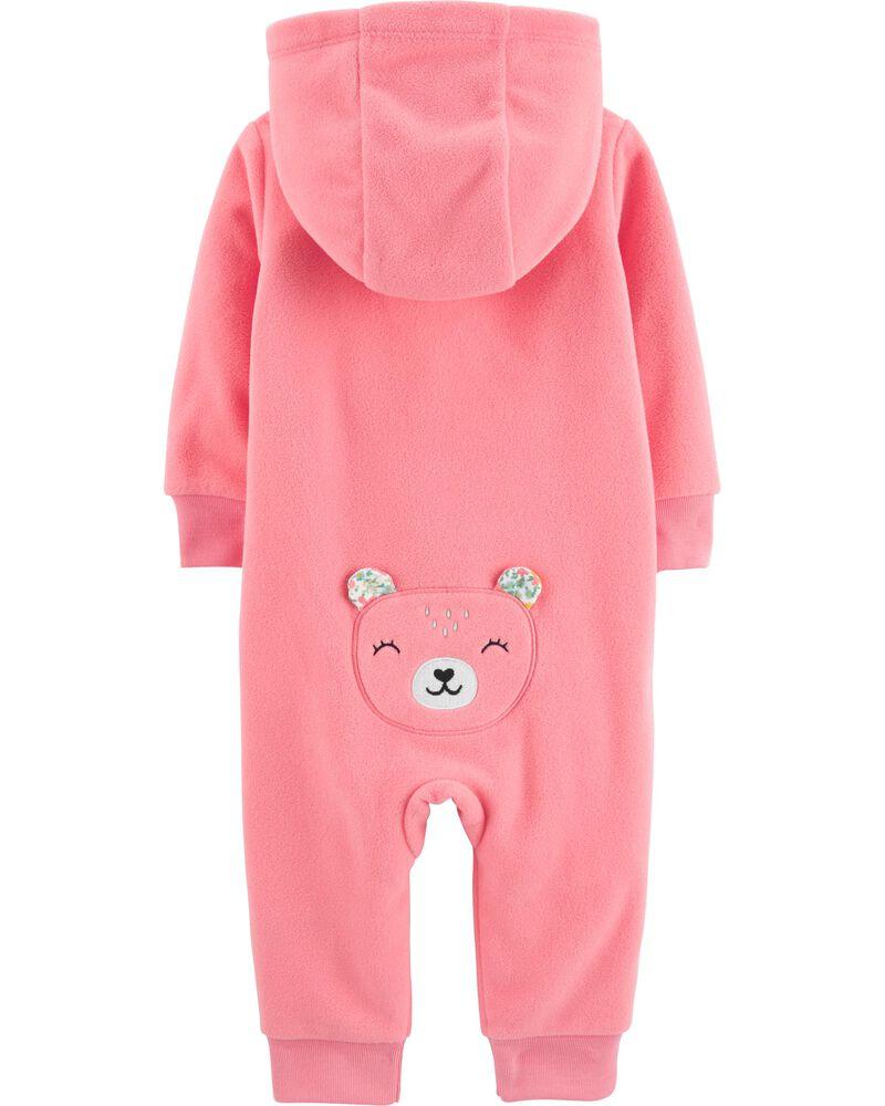 Hooded Bear Jumpsuit, , hi-res