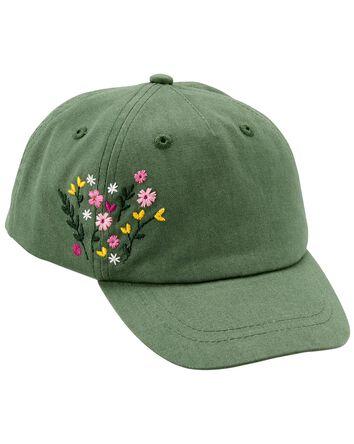 Flowery Baseball Cap