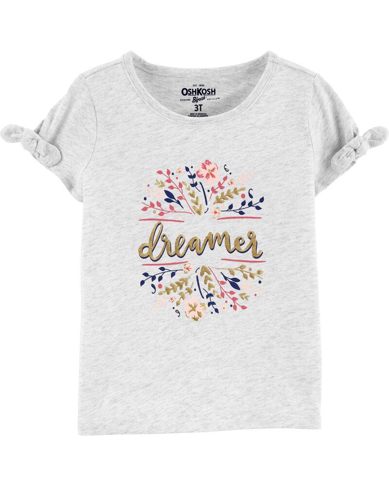T-shirt à nœud aux manches Dreamer, , hi-res