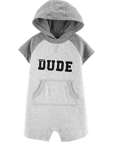 Hooded Little Dude Romper