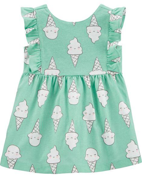 Ice Cream Cone Jersey Dress