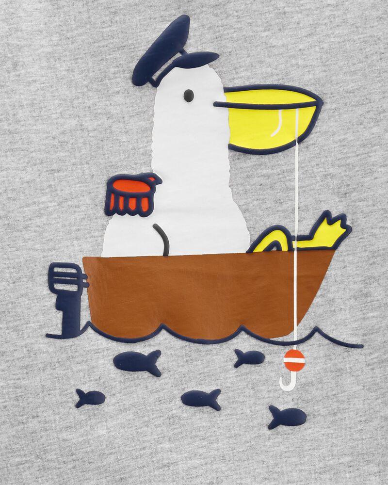 Ensemble 2 pièces t-shirt en jersey Animal et short , , hi-res