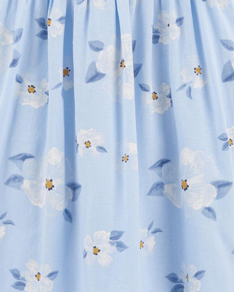 Daisy Linen Dress, , hi-res