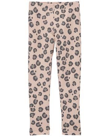 Leopard Cozy Leggings